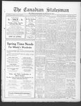 Canadian Statesman (Bowmanville, ON), 28 Apr 1927