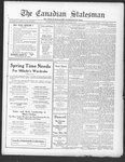 Canadian Statesman(Bowmanville, ON), 12 May 1927