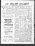 Canadian Statesman (Bowmanville, ON), 18 Jul 1929