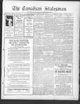 Canadian Statesman (Bowmanville, ON), 3 Oct 1929