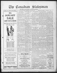 Canadian Statesman (Bowmanville, ON), 16 Jan 1930