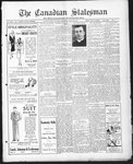 Canadian Statesman (Bowmanville, ON), 8 May 1930