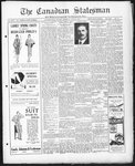 Canadian Statesman (Bowmanville, ON), 5 Jun 1930