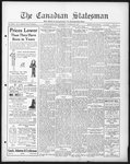 Canadian Statesman (Bowmanville, ON), 16 Oct 1930