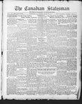 Canadian Statesman (Bowmanville, ON), 22 Jan 1931