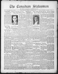 Canadian Statesman (Bowmanville, ON), 29 Jan 1931