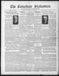 Canadian Statesman (Bowmanville, ON), 12 Feb 1931