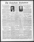 Canadian Statesman (Bowmanville, ON), 9 Jul 1931