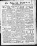 Canadian Statesman (Bowmanville, ON), 30 Jul 1931