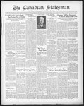 Canadian Statesman (Bowmanville, ON), 10 Sep 1931