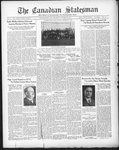 Canadian Statesman (Bowmanville, ON), 8 Oct 1931