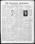 Canadian Statesman (Bowmanville, ON), 5 Nov 1931