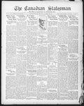 Canadian Statesman (Bowmanville, ON), 12 Nov 1931