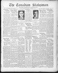 Canadian Statesman (Bowmanville, ON), 19 Nov 1931