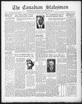 Canadian Statesman (Bowmanville, ON), 3 Dec 1931