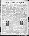 Canadian Statesman (Bowmanville, ON), 31 Dec 1931