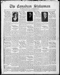 Canadian Statesman (Bowmanville, ON), 17 Nov 1932