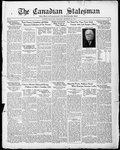 Canadian Statesman (Bowmanville, ON), 8 Dec 1932
