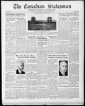 Canadian Statesman (Bowmanville, ON), 6 Jul 1933