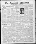 Canadian Statesman (Bowmanville, ON), 13 Jul 1933