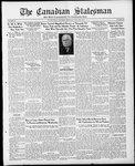 Canadian Statesman (Bowmanville, ON), 27 Jul 1933