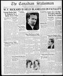 Canadian Statesman (Bowmanville, ON), 31 Oct 1935