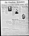 Canadian Statesman (Bowmanville, ON), 28 Nov 1935
