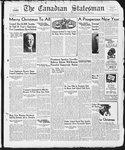 Canadian Statesman (Bowmanville, ON), 22 Dec 1938