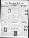 Canadian Statesman (Bowmanville, ON), 25 Oct 1951