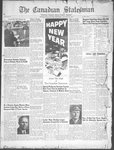 Canadian Statesman (Bowmanville, ON), 1 Jan 1953