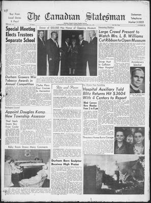Canadian Statesman (Bowmanville, ON), 11 Oct 1961