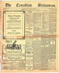 Canadian Statesman (Bowmanville, ON), 24 Dec 1908
