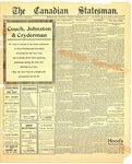 Canadian Statesman (Bowmanville, ON), 28 Dec 1911