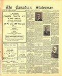 Canadian Statesman (Bowmanville, ON), 13 Jan 1921