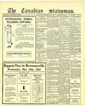 Canadian Statesman (Bowmanville, ON), 11 May 1922