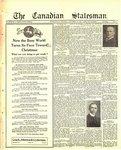 Canadian Statesman (Bowmanville, ON), 30 Nov 1922