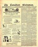 Canadian Statesman (Bowmanville, ON), 7 Dec 1922