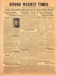 Orono Weekly Times, 24 Jan 1941