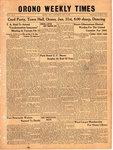 Orono Weekly Times, 31 Jan 1941