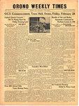 Orono Weekly Times, 27 Feb 1941
