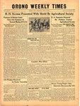 Orono Weekly Times, 13 Mar 1941