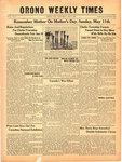Orono Weekly Times, 8 May 1941