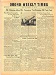 Orono Weekly Times, 12 Aug 1943