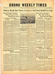 Orono Weekly Times, 19 Aug 1943