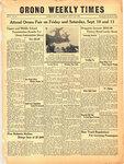 Orono Weekly Times, 2 Sep 1943