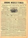 Orono Weekly Times, 9 Sep 1943