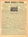 Orono Weekly Times, 30 Sep 1943