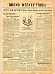 Orono Weekly Times, 21 Oct 1943