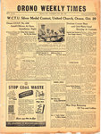 Orono Weekly Times, 28 Oct 1943