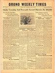 Orono Weekly Times, 11 Nov 1943